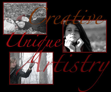 Click on photos to enlarge  <h2>L Photography by Leslie Ruegsegger offers a variety of services always with a unique and artistic approach.   Striking black and whites with a splash of color - - -  Eye catching and UNIQUE!!<h2>