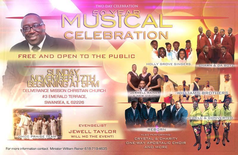 50 Year Musical Celebration