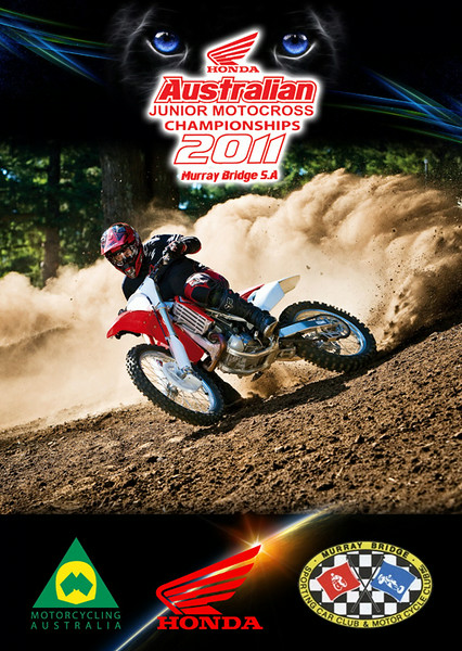 2011 Australian Junior Motorcross Championship Event Program Cover