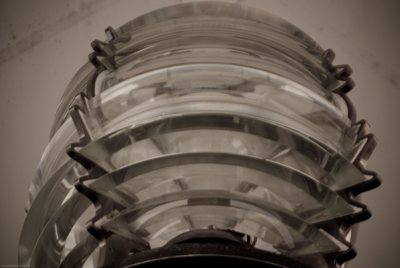 Mukilteo lighthouse lens.