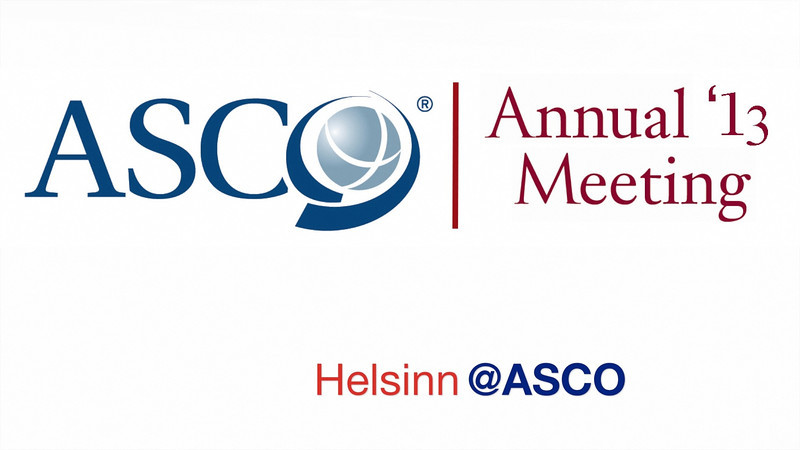 This video is about ASCO 2013 Helsinn 2