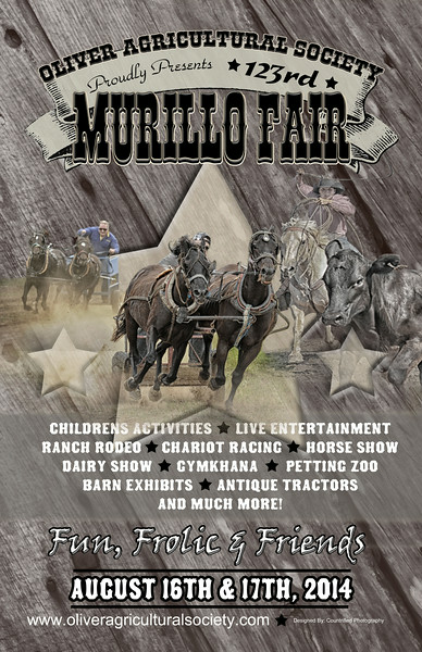 Murillo Fair Poster- 2014