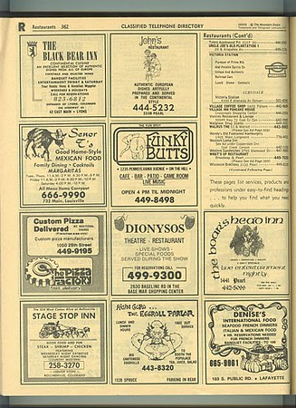 1977 Phone Book (scanned and donated by Jim Lehmer, thanks)