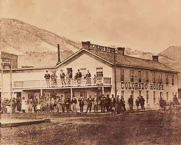 Colorado House - The first restaurant in Boulder