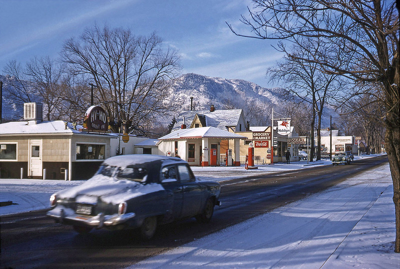 Hi Ho 1955 (Became Daddy Bruce's) Arapahoe Avenue  (Found by DanThayer, thanks)
