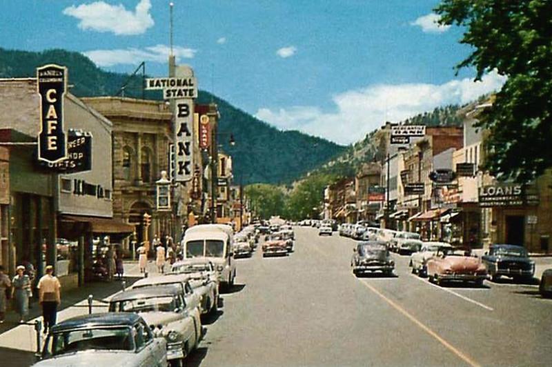 Pearl Street, mid 1950s