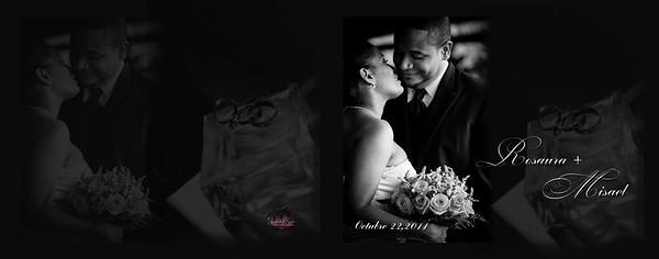 Rosaura y Misael Album 11x14