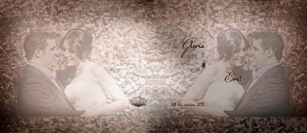 0 Portada Album de Firma de Gloria y Emil