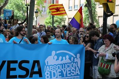 015 2016-05-22 8deYesa Manifestacion en Zaragoza