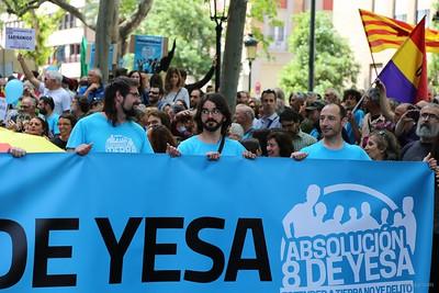 016 2016-05-22 8deYesa Manifestacion en Zaragoza