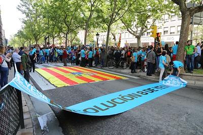 001 2016-05-22 8deYesa Manifestacion en Zaragoza