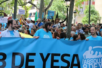 014 2016-05-22 8deYesa Manifestacion en Zaragoza