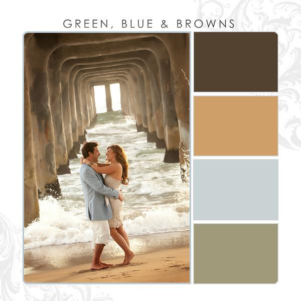 Green-Blue-Browns