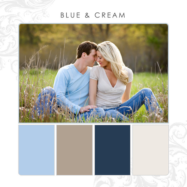 Blue-Cream
