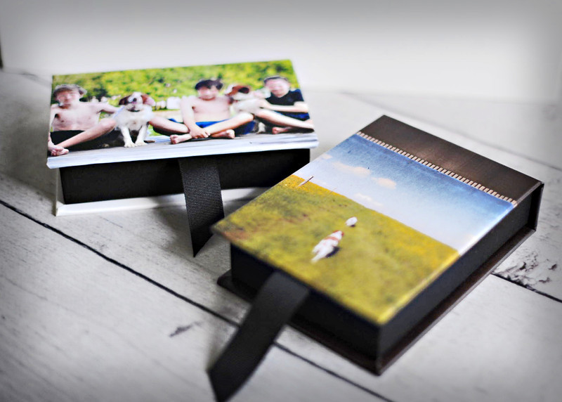 Customized Image Box.....<br /> Each box holds either all 4x6 prints in your gallery or 10 4x6 mounted prints on 2mm thick board