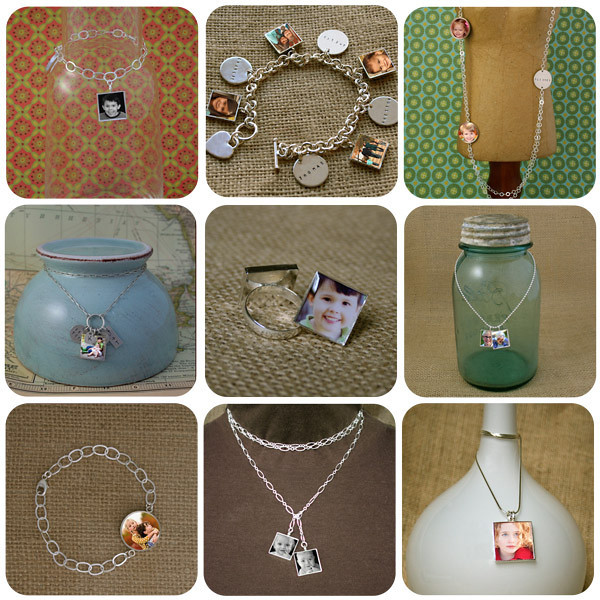 Latest addition to my product line...beautiful silver photo jewelry.