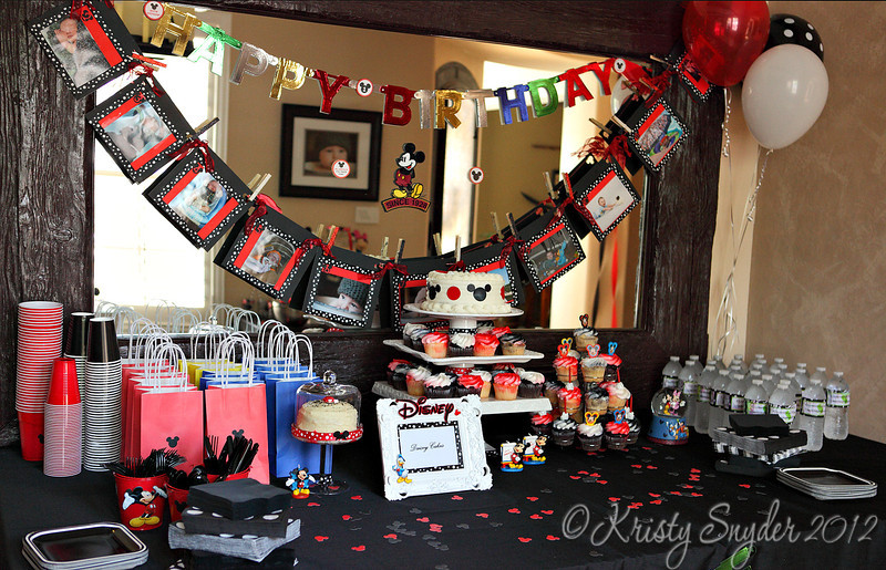 Tiffany did such an amazing job with the decorations and details for the party.