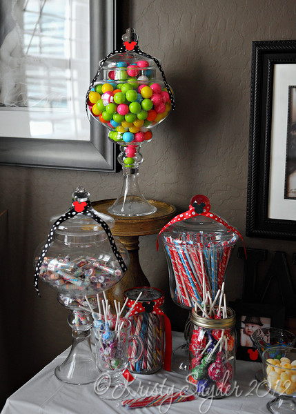 Cute display of the candy