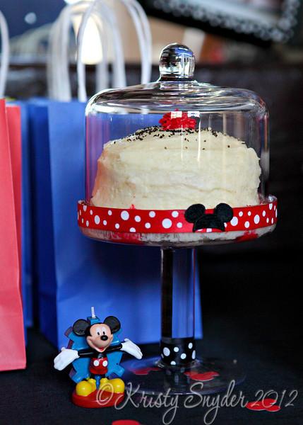 Westin's special cake.
