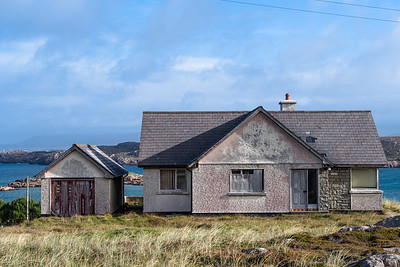 Abondened house on Cruit Island.  Derelect. Ireland, Irish, Donegal.