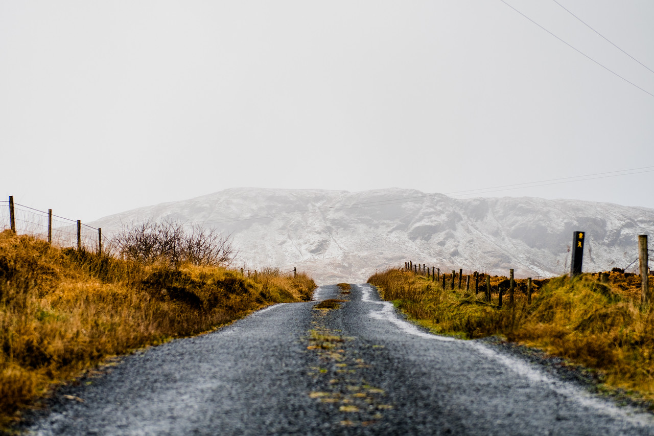 sights and visions of a cloudy winters day in the bluestack mountains, Donegal, Ireland