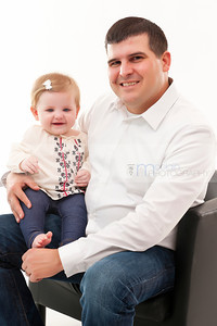 Emma & Family - 9 Months