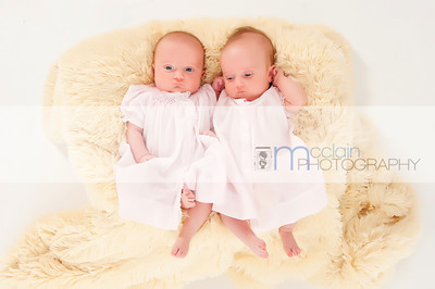 McBrayer Twins - 3 Month Session