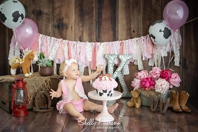 Vintage Western in pink