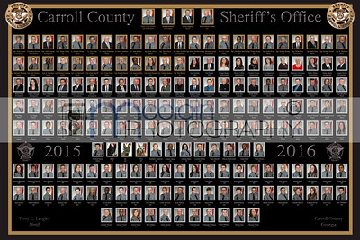 Carroll County Sheriff Dept. 2015/2016