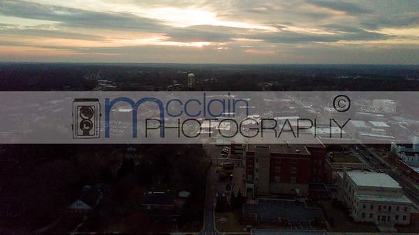 Carrollton GA Aerial shots