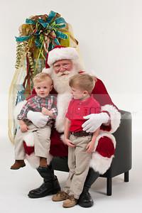 Lanier & Davis Santa 2012