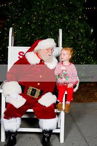 Santa in the Square 2016