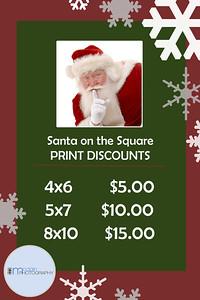 Santa on the Square 2015
