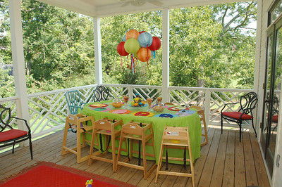 Mack's 1 year party