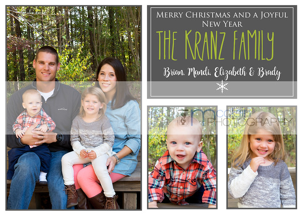 Holiday Card proof