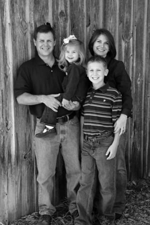 Thompson Family 018 bw