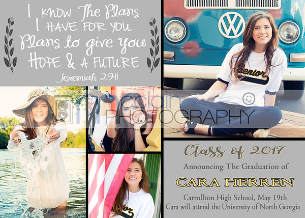Cara Graduation Invite 3