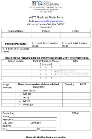 2013 Order Form