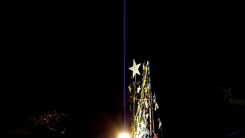 Barcarolata 2010, Sestri Levante. La barca dell'Aisa, associazione italiana sindromi atassiche.