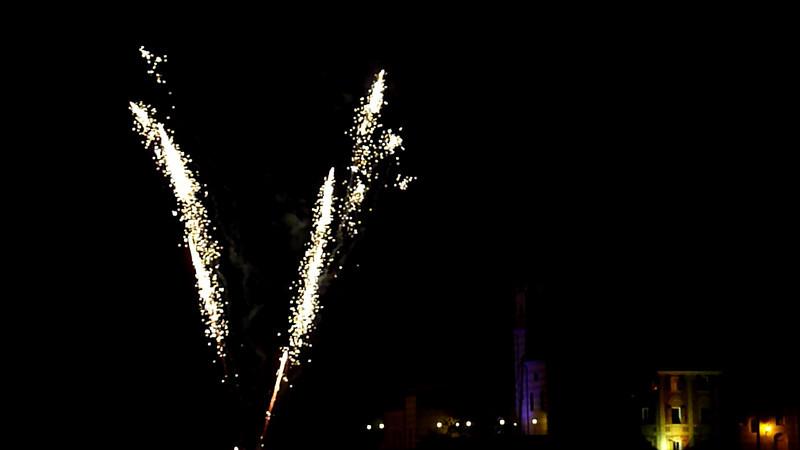 Barcarolata 2010, Sestri Levante. Fuochi d'artificio - Fireworks.