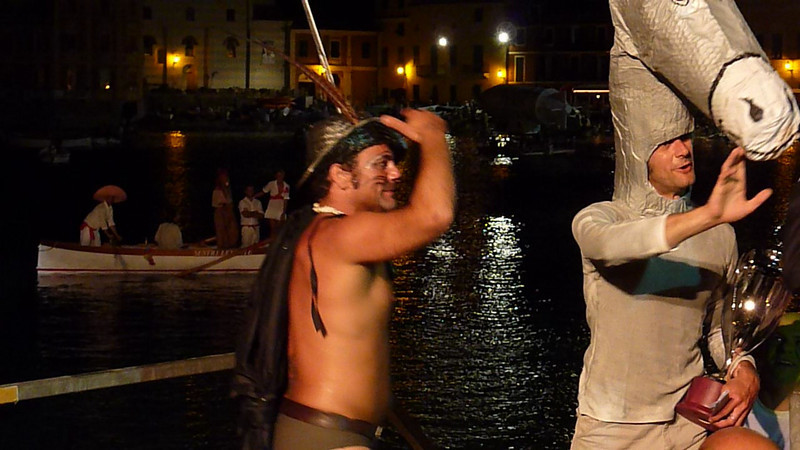 Video barcarolata 2009 Sestri Levante (Italy); Enea, winner crew