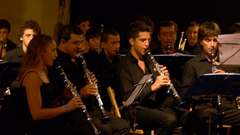 """La virgine de la macarena"". Solisti Arnaldo Ruggeri alla tromba, Elisa Paganini al clarinetto"