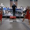 """""""Habanera"""" dalla Carmen di Bizet. Ballano Francesca Assereto, Consuelo Campofiorito, Cristina Oliva, della scuola di danza Momas 2"""