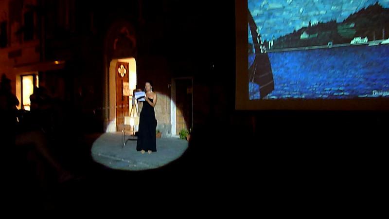 Sestri Levante, Festival di fotografia una Penisola di Luce; proiezione in Corso Colombo di foto storiche. Quindicesima parte