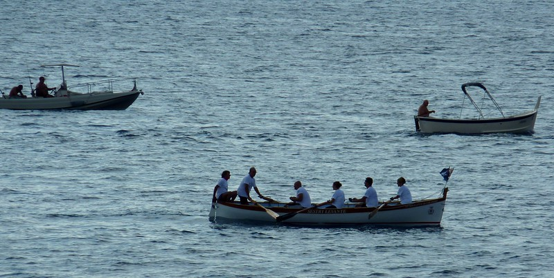 Sestri Levante - Marciana Marina e ritorno - cento miglia a remi.