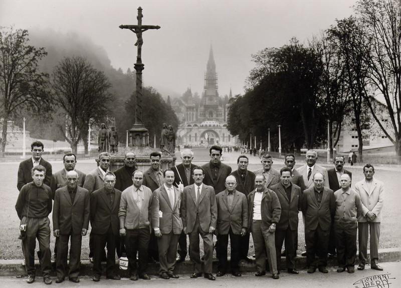 15th October 1968: pilgrimage to Lourdes for the people of Sestri Levante.<br /> <br /> 15 ottobre 1968: sestresi in pellegrinaggio a Lourdes