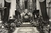 Good Friday in the church of Santa Caterina on the peninsula of Sestri Levante in the Thirties.<br /> <br /> Il Venerdì Santo nella chiesa di Santa Caterina sulla penisola negli anni '30.