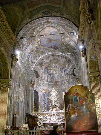 07/09/2008; a restored painting is returned to the church of Santa Maria di Nazareth.  07/09/2008: un quadro restaurato restituito alla chiesa di Santa Maria di Nazareth.