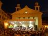 9th July 2007: The Carabinieri's fanfare in front of the church of Santa Maria di Nazareth in Sestri Levante.<br /> <br /> 9 luglio 2007: la fanfare dei Carabinieri di fronte alla chiesa di Santa Maria di Nazareth a Sestri Levante.