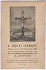 A leaflet for the 1953 celebrations.<br /> <br /> Un volantino per le celebrazioni del 1953